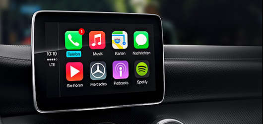 Mercedes-Benz CLA Android Auto i Apple CarPlay™