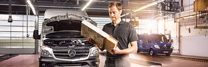 Mercedes-Benz GenuineParts usluga